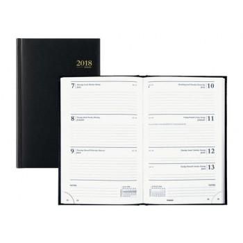 Brepols Saturnus 7 dagen per twee pagina's kort Agenda indeling