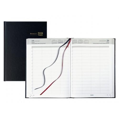 Brepols Bremax-1 één (1) dag per pagina Agenda